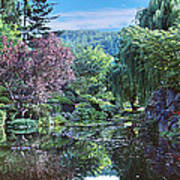 Butchart Gardens Is A Group Of Floral Display Gardens British Columbia Canada 3 Poster