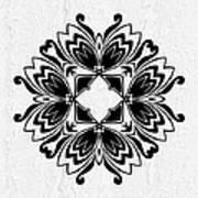 Butterfly Mandala Poster