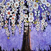 Butterfly Tree Poster by Blenda Studio