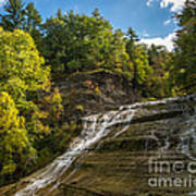 Buttermilk Falls Poster by John Naegely