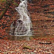 Buttermilk Falls Poster by Marcia Colelli