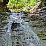 Butternut Falls Poster by Frozen in Time Fine Art Photography