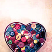 Button Love Poster