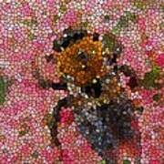 Buzzing Bumblebee Poster