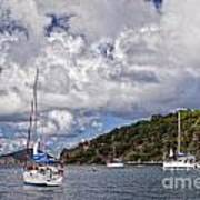 Bvi Clouds Poster