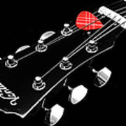 Bw Head Stock With Red Pick  Poster