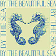 by the beautiful sea II Poster by Jane Schnetlage