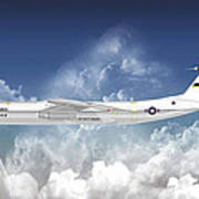 C-141b Starlifter Poster