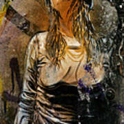 C215 Beautiful Model Poster
