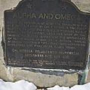 Ca-628-629 Alpha And Omega Poster