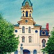 Cabarrus County Courthouse Poster