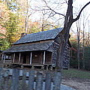 Cabin In Cade's Cove Poster