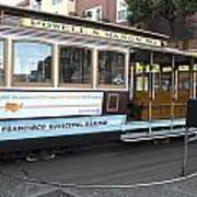 Cable Car Turn-around At Fisherman's Wharf No. 2 Poster