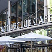 Cactus Club Poster