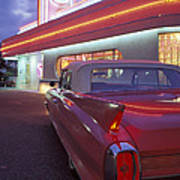 Caddy At Diner Poster
