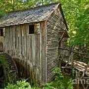 Cades Cove Grist Mill Closeup Poster