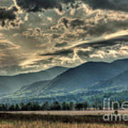 Cades Cove Hdr Spring 2014 Poster