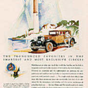 Cadillac La Salle 1929 1920s Usa Cc Poster by The Advertising Archives