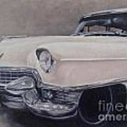 Cadillac Study Poster