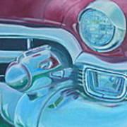 Cadzilla 1953 Cadillac Series 62 Convertible Poster