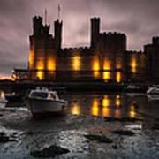 Caernarfon Castle Wales Poster