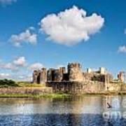 Caerphilly Castle 1 Poster