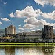 Caerphilly Castle 3 Poster