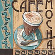 Cafe Nouveau 1 Poster by Debbie DeWitt