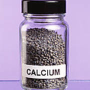 Calcium Poster by Martyn F. Chillmaid