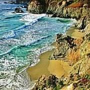 Californa Shore Poster by Benjamin Yeager