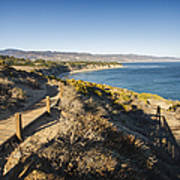 California Coastline From Point Dume Poster