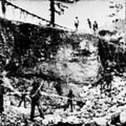 California: Mining, 1850s Poster