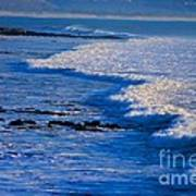 California Pismo Beach Waves Poster