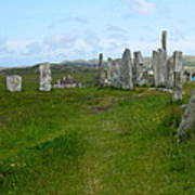 Callanish Looking North Poster
