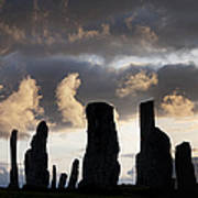 Callanish Standing Stones Poster by Tim Gainey