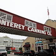 Calm Morning At Monterey Cannery Row California 5d24782 Poster