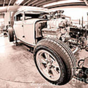 Cambra Speed Shop Poster