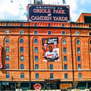 Camden Yards Poster