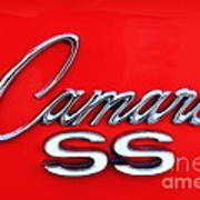 Camero Ss Poster