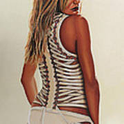 Cameron Diaz Painting Poster