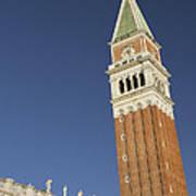 Campanile In Venice Poster
