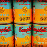 Campbell's Soup Retro Andy Warhol Poster