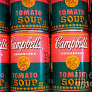 Campbell's Tomato Soup Pop Art Poster