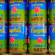 Campbell's Tomato Soup Retro Andy Warhol Poster