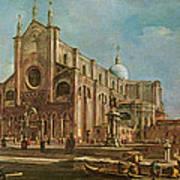 Campo Dei Santi Giovanni E Paolo And The Scuola Grande Di San Marco, Venice Oil On Canvas Poster