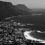 Camps Bay Cape Town Poster by Aidan Moran