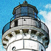 Cana Island Lighthouse Tower Poster