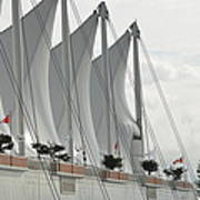 Canada Place Sails Poster