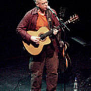 Canadian Folk Rocker Bruce Cockburn In 2002 Poster