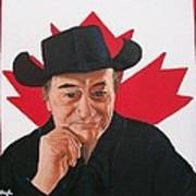Canadian Icon Stompin' Tom Conners  Poster